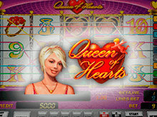 Онлайн автомат Queen Of Hearts