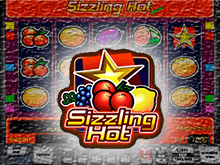 В казино Вулкан аппарат Sizzling Hot